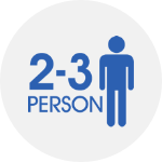 2-3 persons