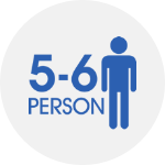 5-6 persons