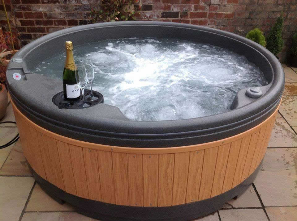 Customer supplied photo from Lincolnshire Hot Tub Hire