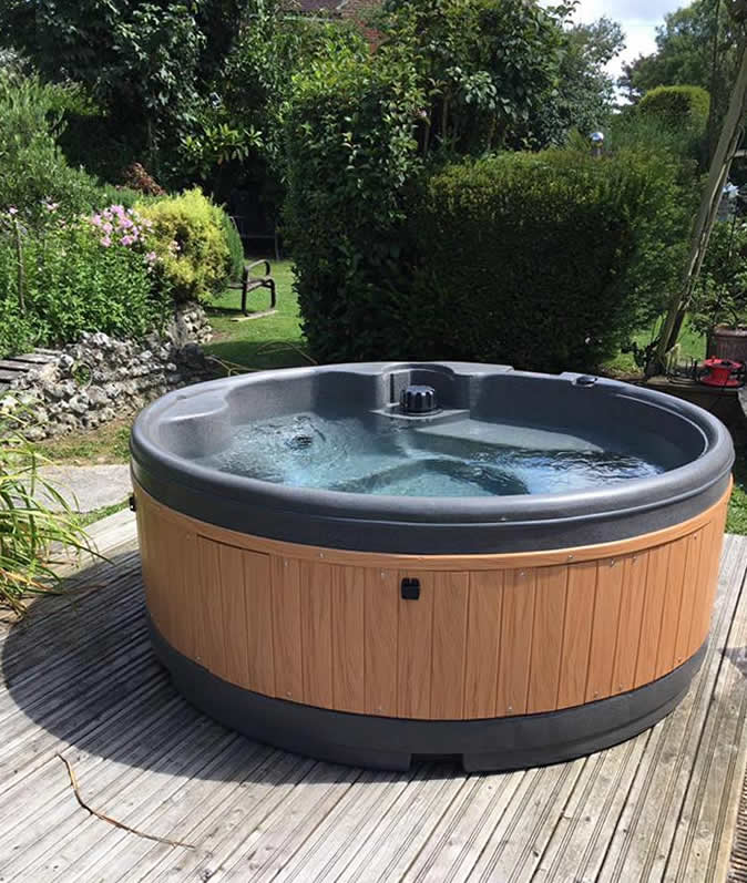 Customer supplied photo from Suffolk Hot Tub Hire